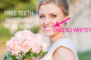 FREE-TEETH WHITENING TO BE WON