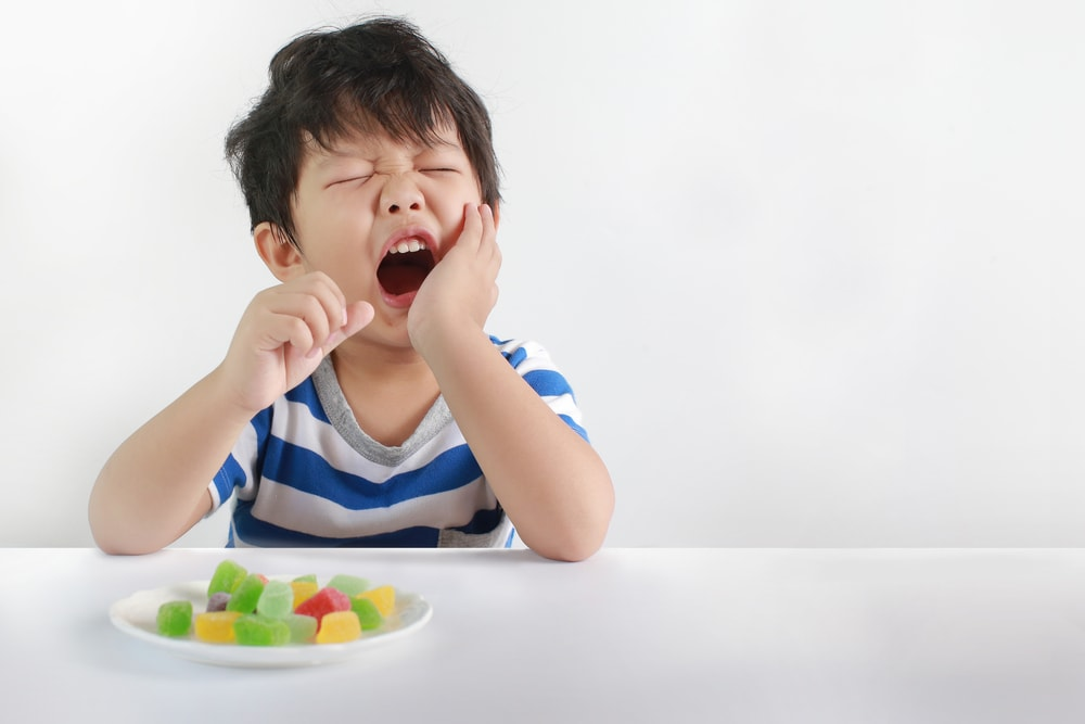 babies tooth decay
